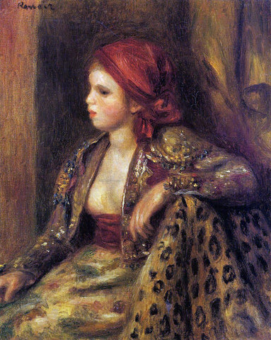 Pierre Auguste Renoir Odalisque - Hand Painted Oil Painting