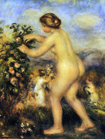 Pierre Auguste Renoir Ode to Flowers (after Anacreon) - Hand Painted Oil Painting