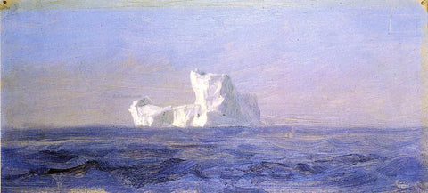 Frederic Edwin Church Off Iceberg, Newfoundland - Hand Painted Oil Painting
