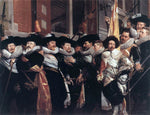 Hendrick Gerritsz Pot Officers of the Civic Guard of St Adrian - Hand Painted Oil Painting