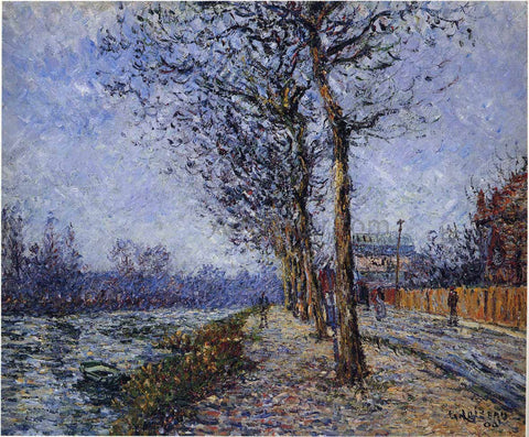 Gustave Loiseau Oise at Pontoise - Hand Painted Oil Painting