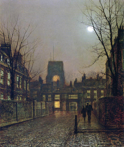 John Atkinson Grimshaw Old Chelsea - Hand Painted Oil Painting