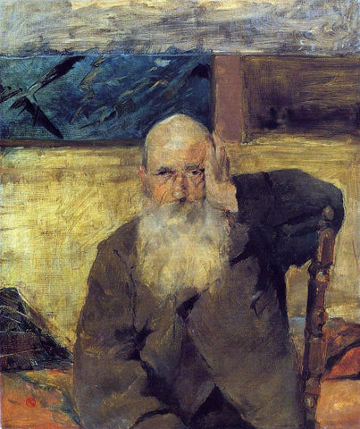 Henri De Toulouse-Lautrec Old Man at Celeyran - Hand Painted Oil Painting