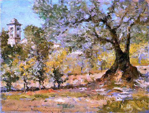William Merritt Chase Olive Trees, Florence - Hand Painted Oil Painting