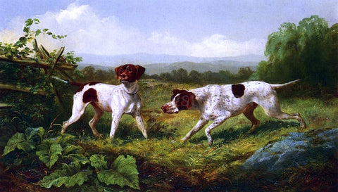 Arthur Fitzwilliam Tait On a Point - Hand Painted Oil Painting