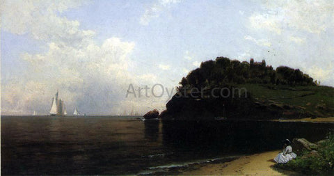 Alfred Thompson Bricher On Long Island Sound - Hand Painted Oil Painting