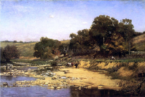 Theodore Clement Steele On the Muscatatuck - Hand Painted Oil Painting