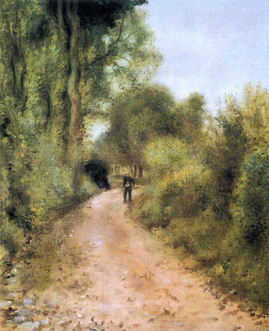 Pierre Auguste Renoir On the Path - Hand Painted Oil Painting