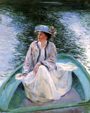 Guy Orlando Rose On the River's Edge - Hand Painted Oil Painting