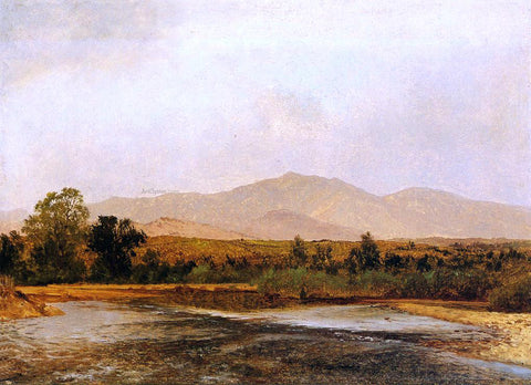 John Frederick Kensett On the St. Vrain, Colorado Territory - Hand Painted Oil Painting