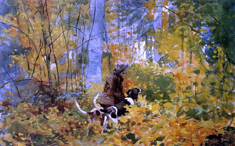 Winslow Homer On the Trail - Hand Painted Oil Painting