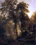 William Trost Richards On the Wissahickon - Hand Painted Oil Painting