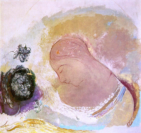 Odilon Redon Ophelia - Hand Painted Oil Painting