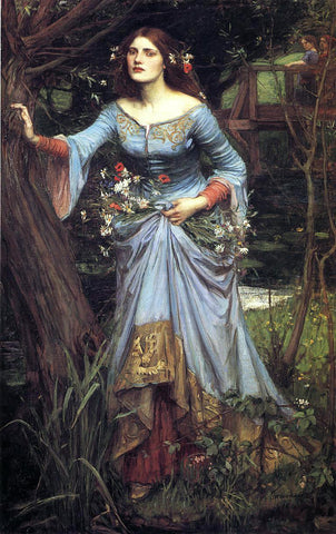 John William Waterhouse Ophelia - Hand Painted Oil Painting