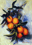 Claude Oscar Monet Orange Branch Bearing Fruit - Hand Painted Oil Painting