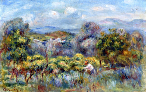 Pierre Auguste Renoir Orange Trees - Hand Painted Oil Painting