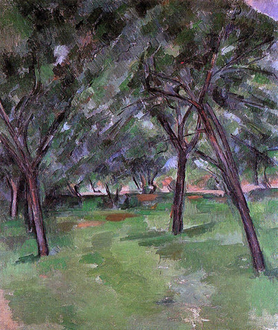 Paul Cezanne Orchard - Hand Painted Oil Painting