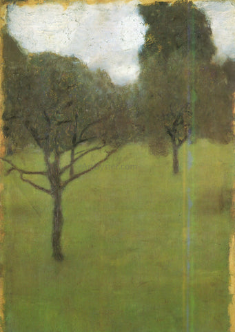 Gustav Klimt Orchard - Hand Painted Oil Painting