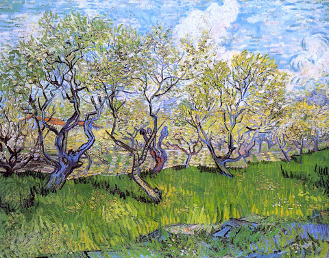 Vincent Van Gogh Orchard in Blossom - Hand Painted Oil Painting