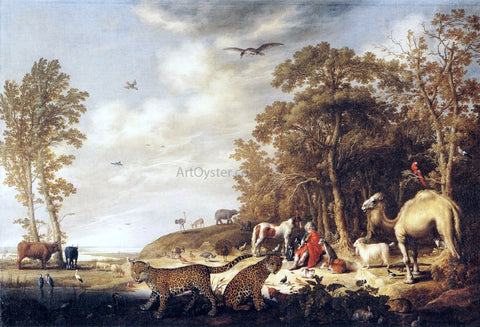 Aelbert Cuyp Orpheus with Animals in a Landscape - Hand Painted Oil Painting