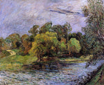 Paul Gauguin Ostervold Park, Copenhagen - Hand Painted Oil Painting