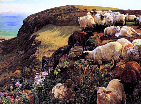 William Holman Hunt Our English Coasts - Hand Painted Oil Painting