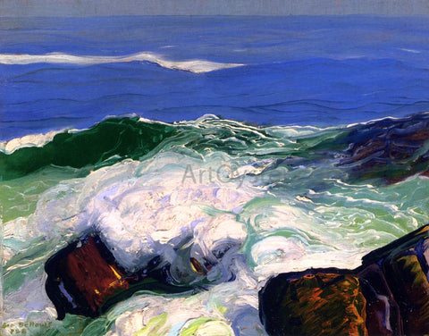George Wesley Bellows Out of the Calm - Hand Painted Oil Painting