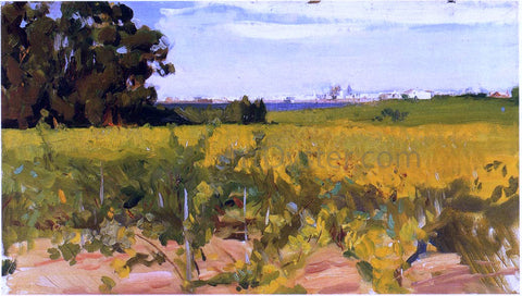 Joaquin Sorolla Y Bastida Outskirts of Seville - Hand Painted Oil Painting