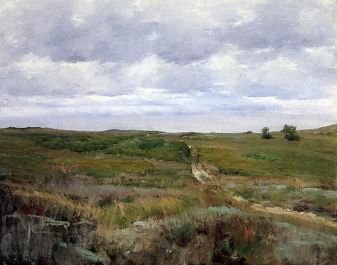 William Merritt Chase Over the Hills and Far Away - Hand Painted Oil Painting
