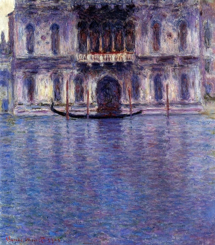 Claude Oscar Monet Palazzo Contarini - Hand Painted Oil Painting