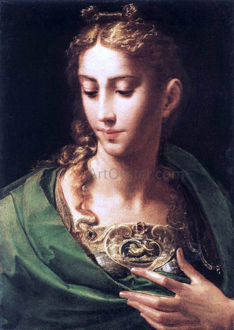 Parmigianino Pallas Athene - Hand Painted Oil Painting