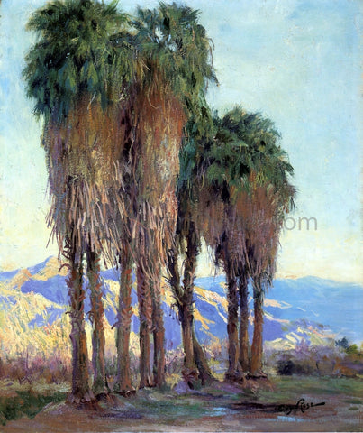 Guy Orlando Rose Palms - Hand Painted Oil Painting