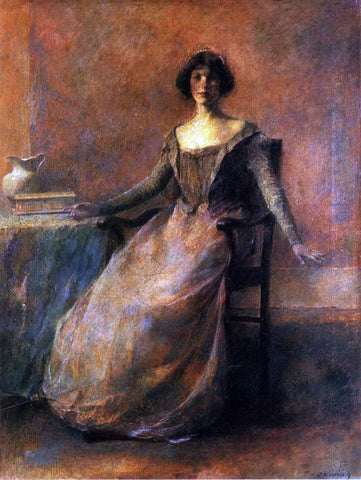 Thomas Wilmer Dewing Pandora - Hand Painted Oil Painting