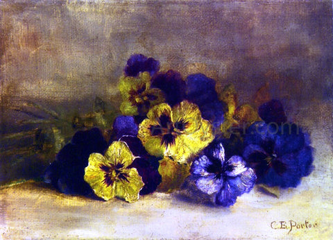 Charles Ethan Porter Pansies - Hand Painted Oil Painting