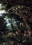 The Younger Jan Brueghel Paradise - Hand Painted Oil Painting