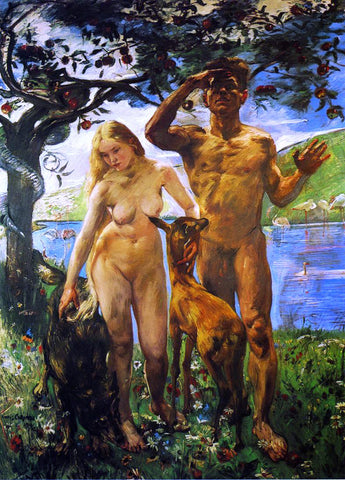 Lovis Corinth Paradise - Hand Painted Oil Painting
