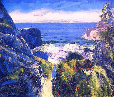 George Wesley Bellows Paradise Point - Hand Painted Oil Painting