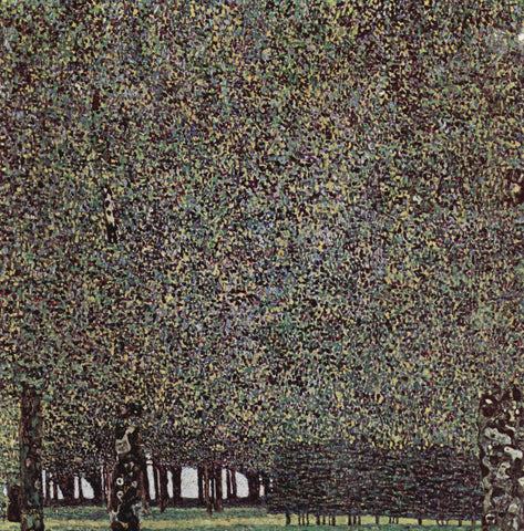 Gustav Klimt Park - Hand Painted Oil Painting