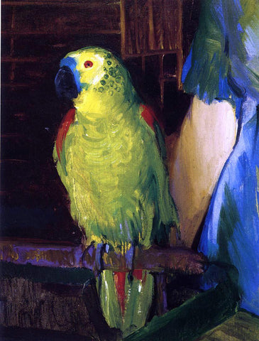 George Wesley Bellows A Parrot - Hand Painted Oil Painting