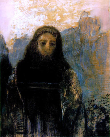 Odilon Redon Parsifal - Hand Painted Oil Painting