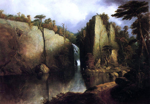 William Guy Wall Passaic Falls - Hand Painted Oil Painting