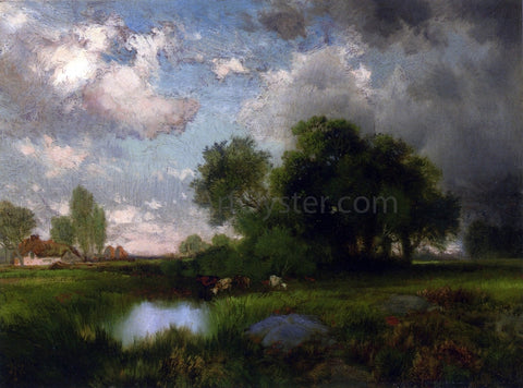 Thomas Moran Passing Shower - Hand Painted Oil Painting