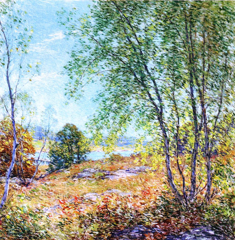 Willard Leroy Metcalf Passing Summer - Hand Painted Oil Painting