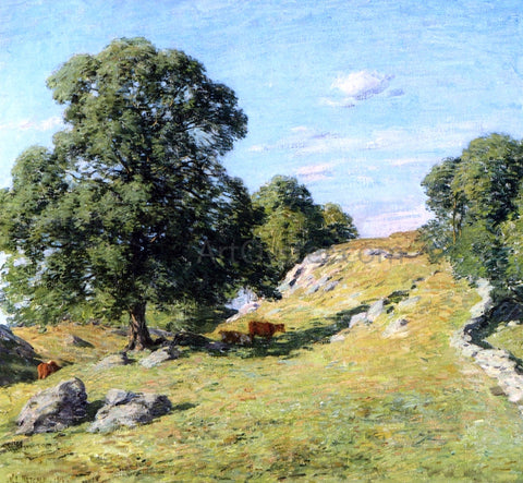 Willard Leroy Metcalf Pasture, Old Lyme - Hand Painted Oil Painting