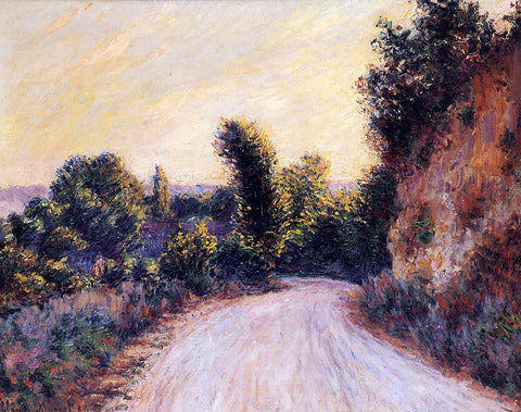 Claude Oscar Monet Path - Hand Painted Oil Painting