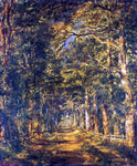 Charles Leroux Path Among the Trees at Souliers - Hand Painted Oil Painting