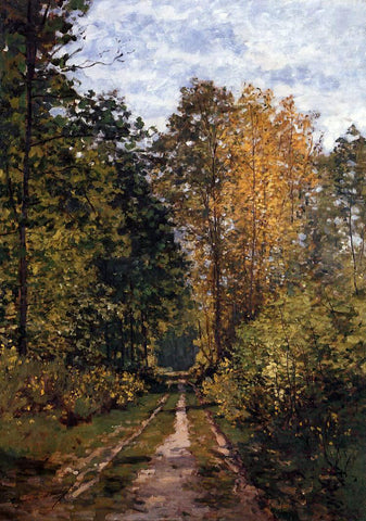 Claude Oscar Monet Path in the Forest - Hand Painted Oil Painting