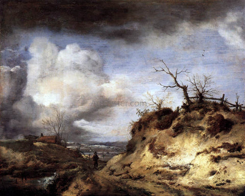 Philips Wouwerman Path Through the Dunes - Hand Painted Oil Painting