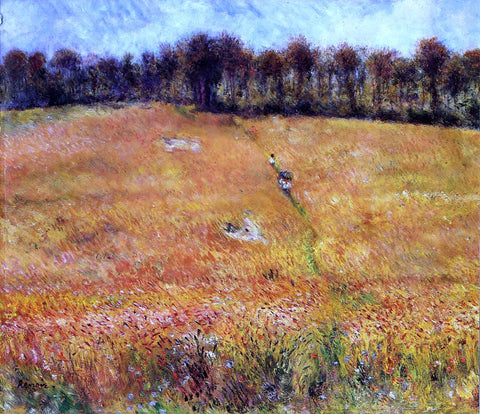Pierre Auguste Renoir Path through the High Grass - Hand Painted Oil Painting