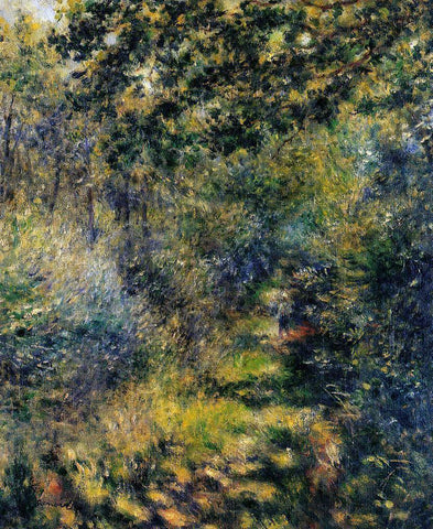 Pierre Auguste Renoir Path Through the Woods - Hand Painted Oil Painting